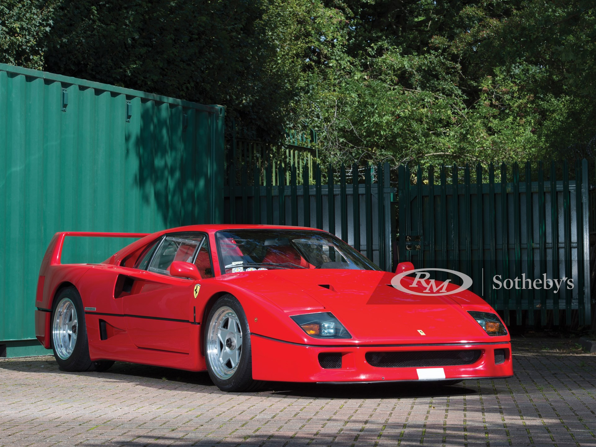 1988 Ferrari F40 London 2017 Rm Sotheby S
