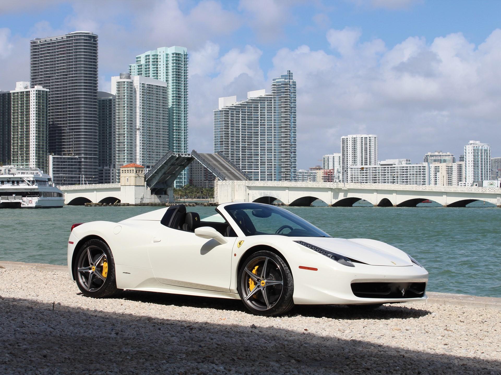 2014 Ferrari 458 Spider >> Rm Sotheby S 2014 Ferrari 458 Spider Fort Lauderdale 2018