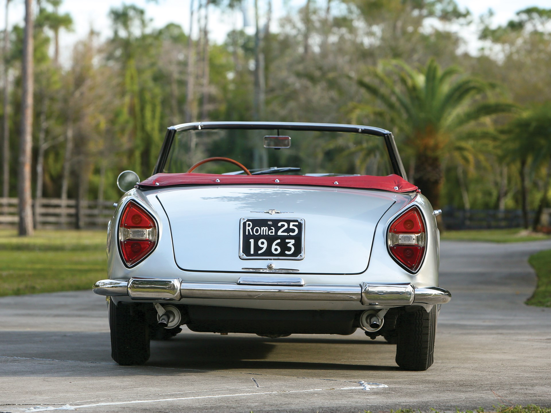 1963 Lancia Flaminia 3C 2.5 Cabriolet by Touring