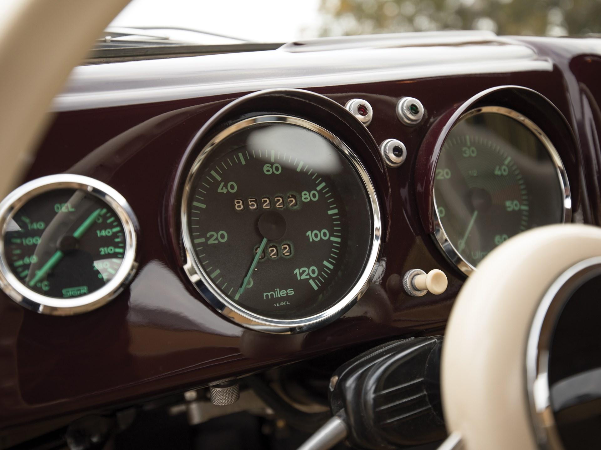 1953 Porsche 356 1500 Coupe by Reutter