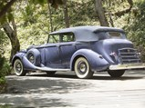 1937 Packard Twelve Convertible Sedan  - $