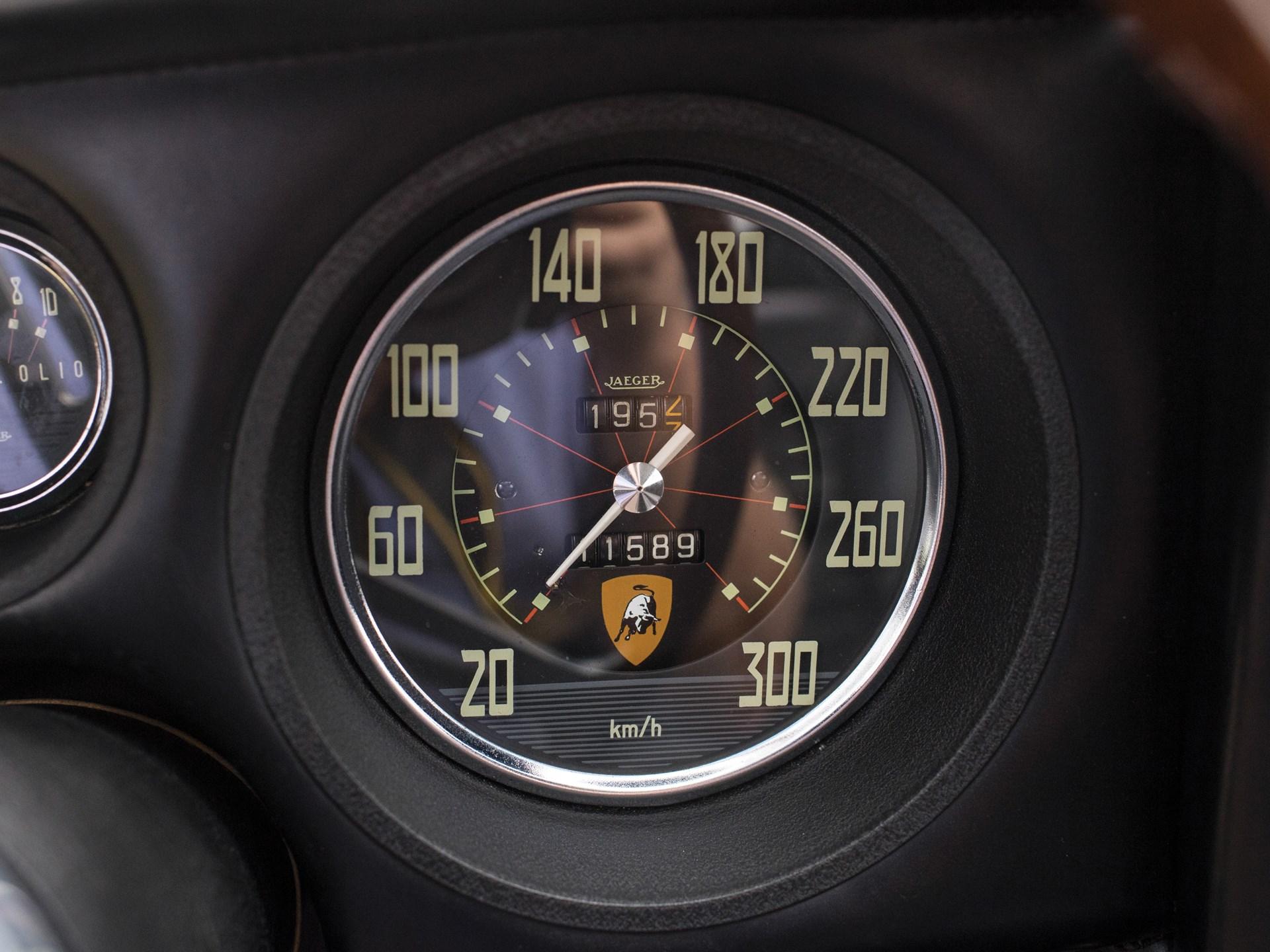1966 Lamborghini 400 GT 2+2 by Touring