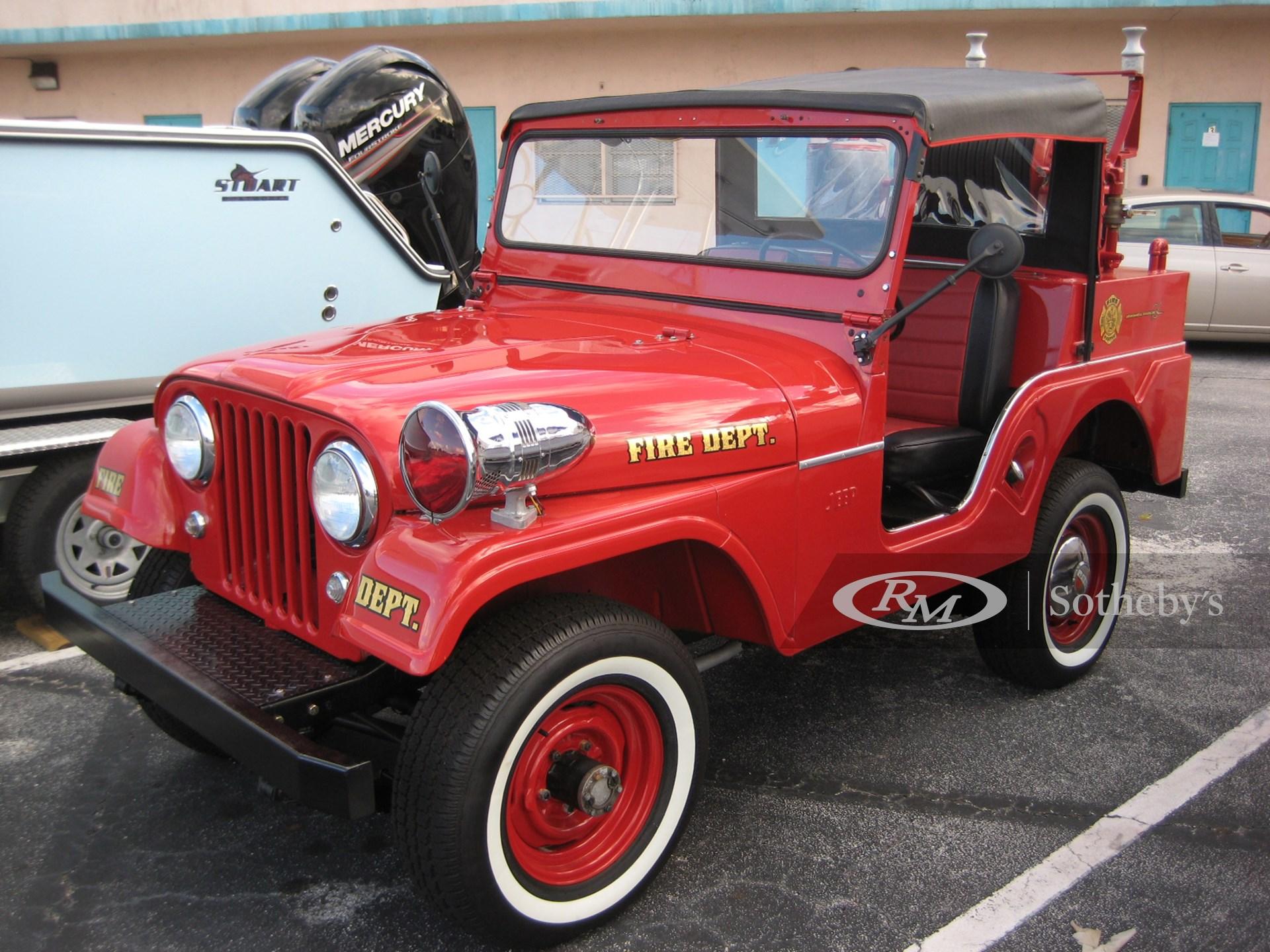 1958 Willys Jeep CJ5