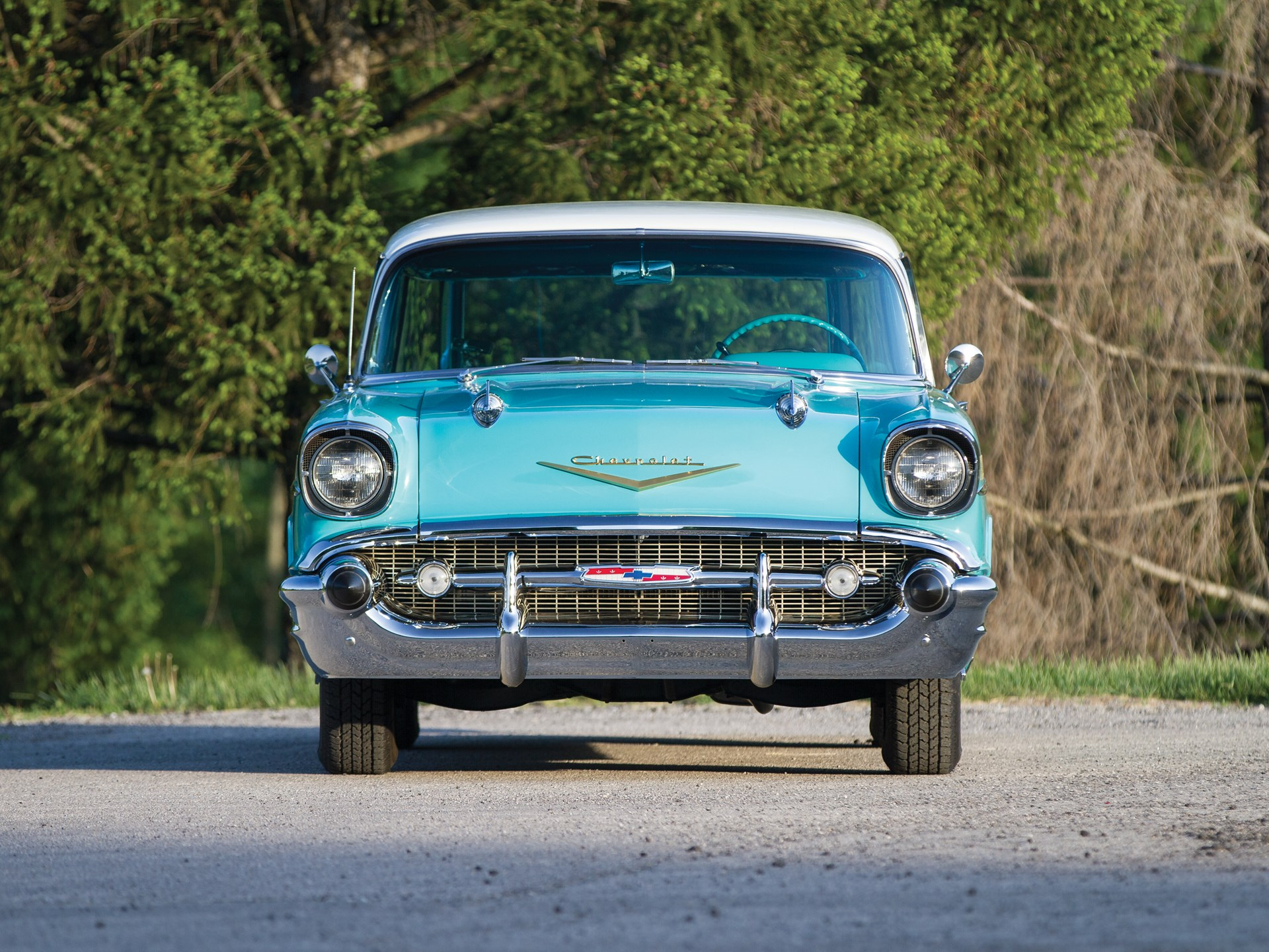 Rm Sothebys 1957 Chevrolet Bel Air Nomad Station Wagon Motor Chevy