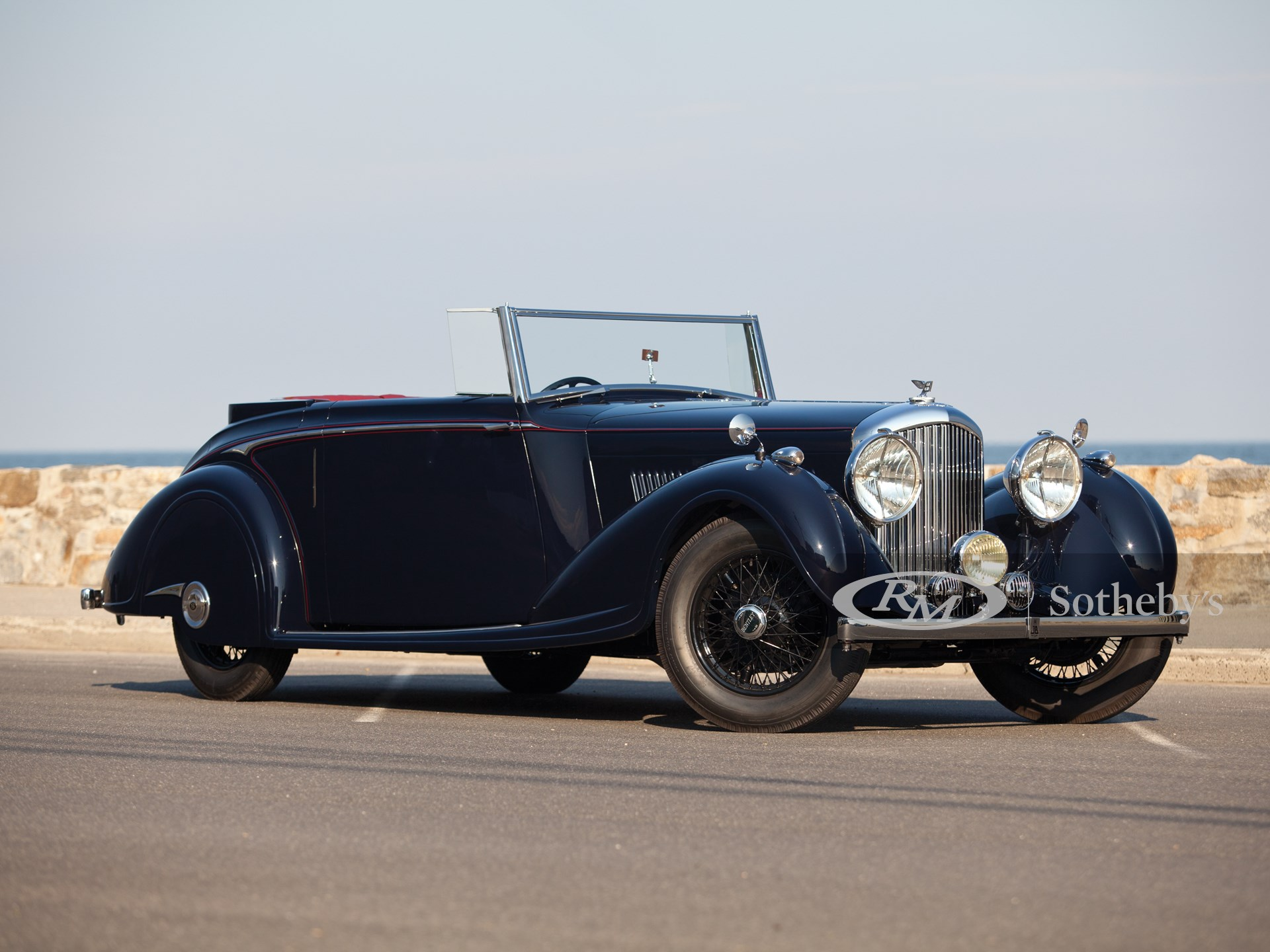 1937 Bentley 4¼-Litre Concealed Head Coupe by H.J. Mulliner