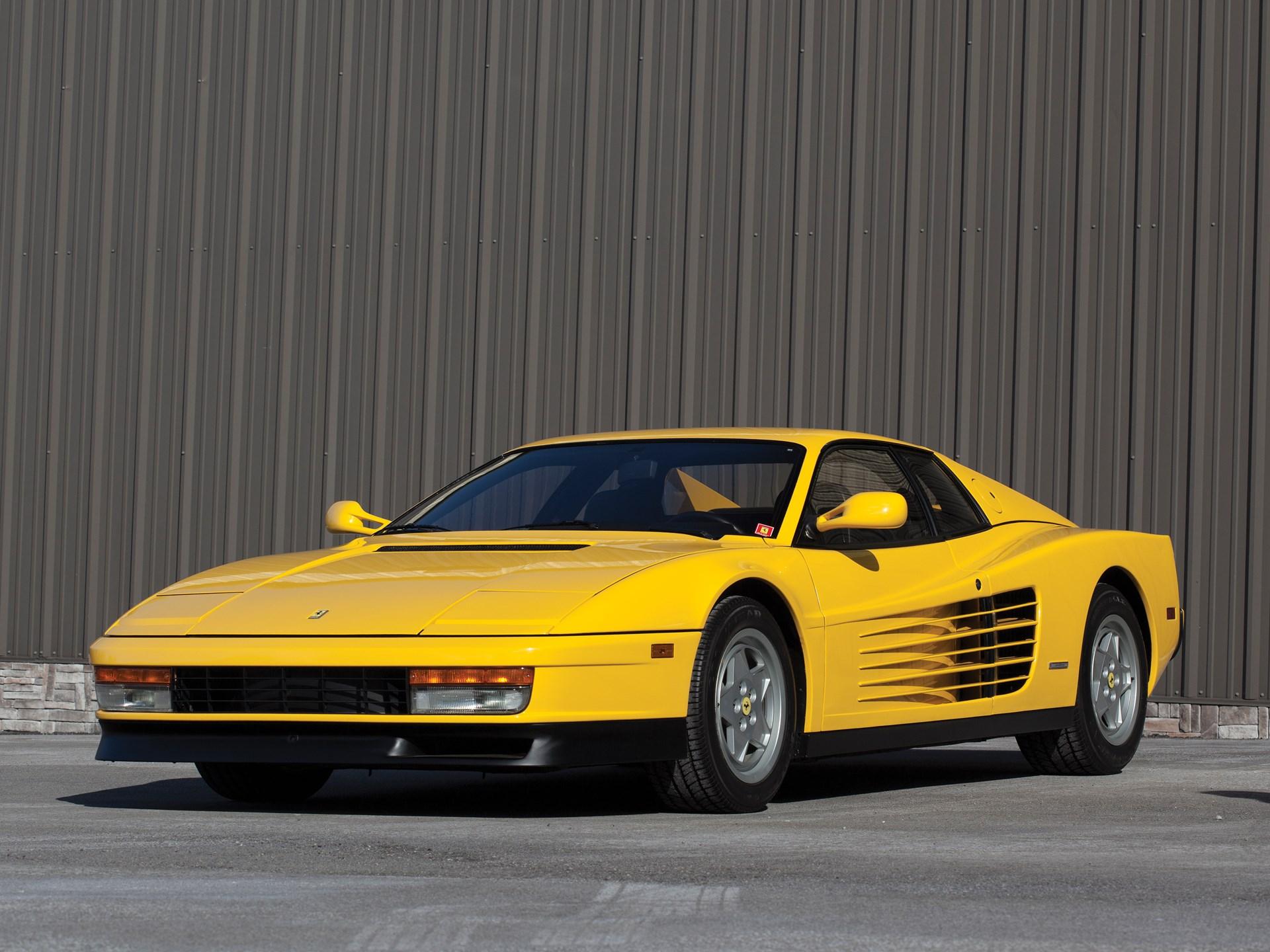 RM Sotheby's - 1991 Ferrari Testarossa | Amelia Island 2017
