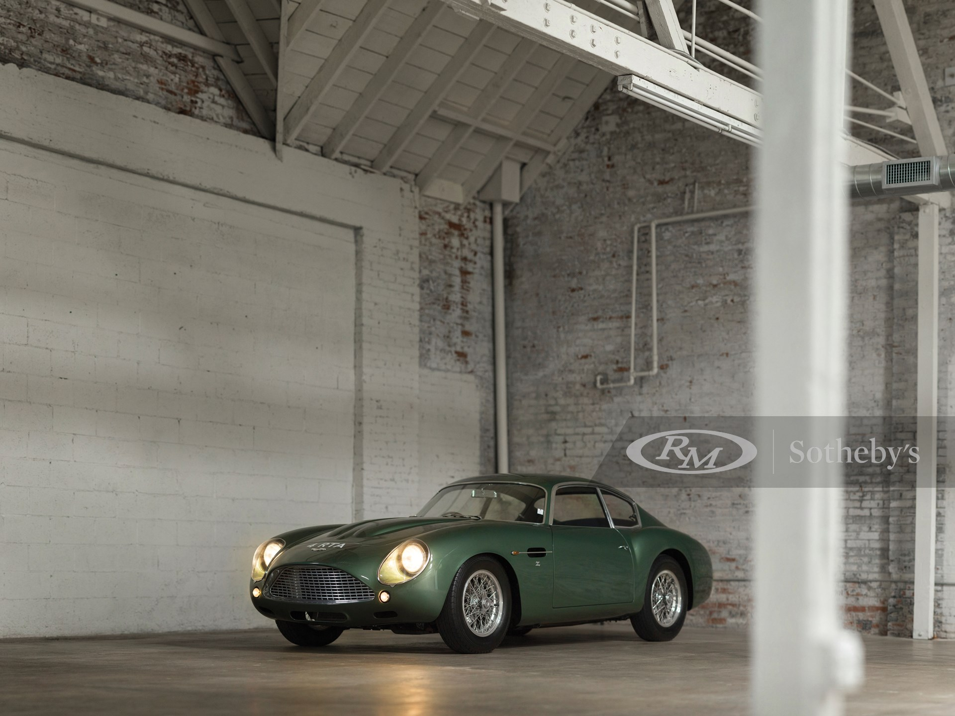 1962 Aston Martin Db4gt Zagato New York Driven By Disruption 2015 Rm Sotheby S