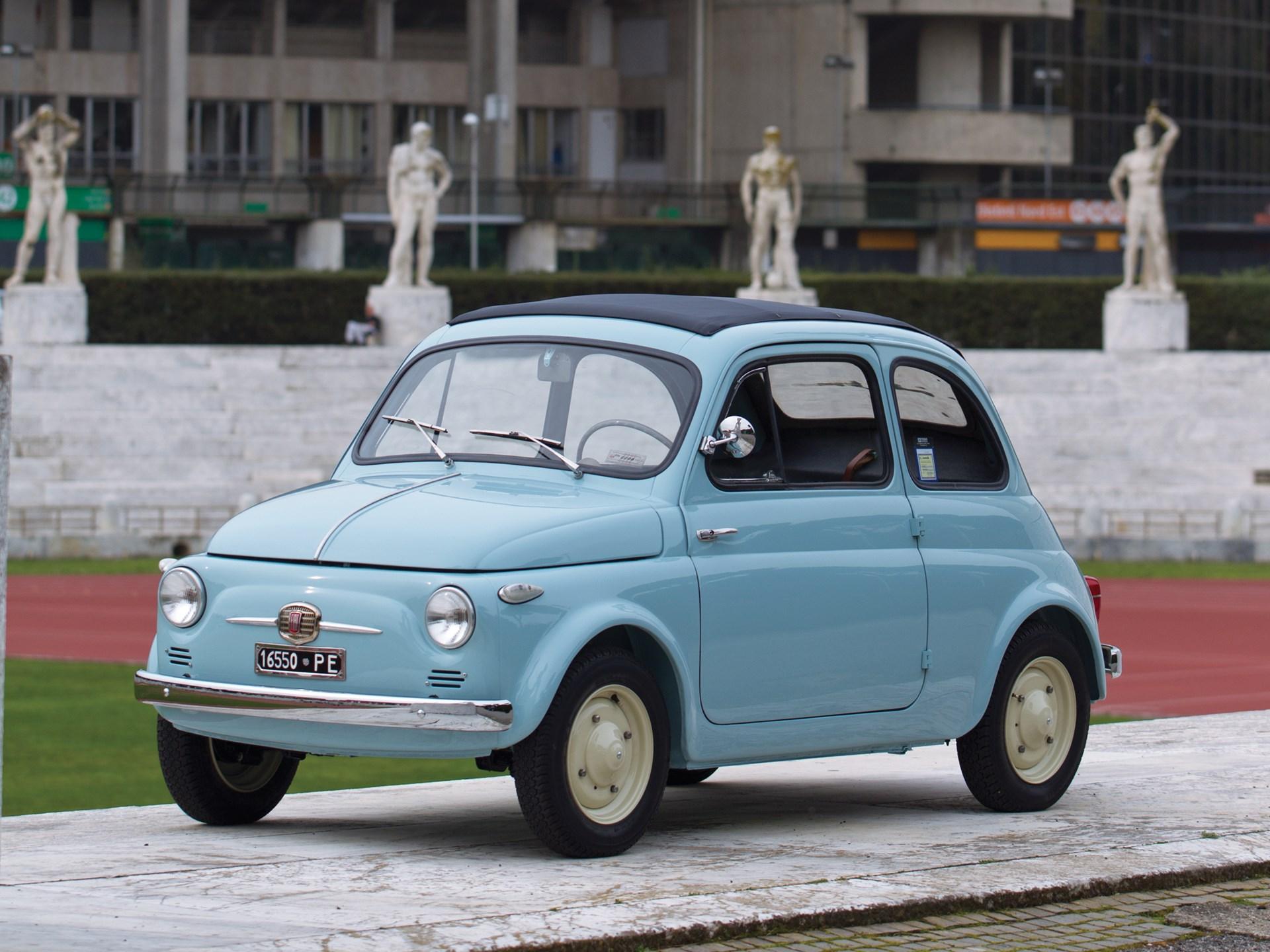 Rm Sotheby S 1957 Fiat 500 N Vetri Fissi Monaco 2014