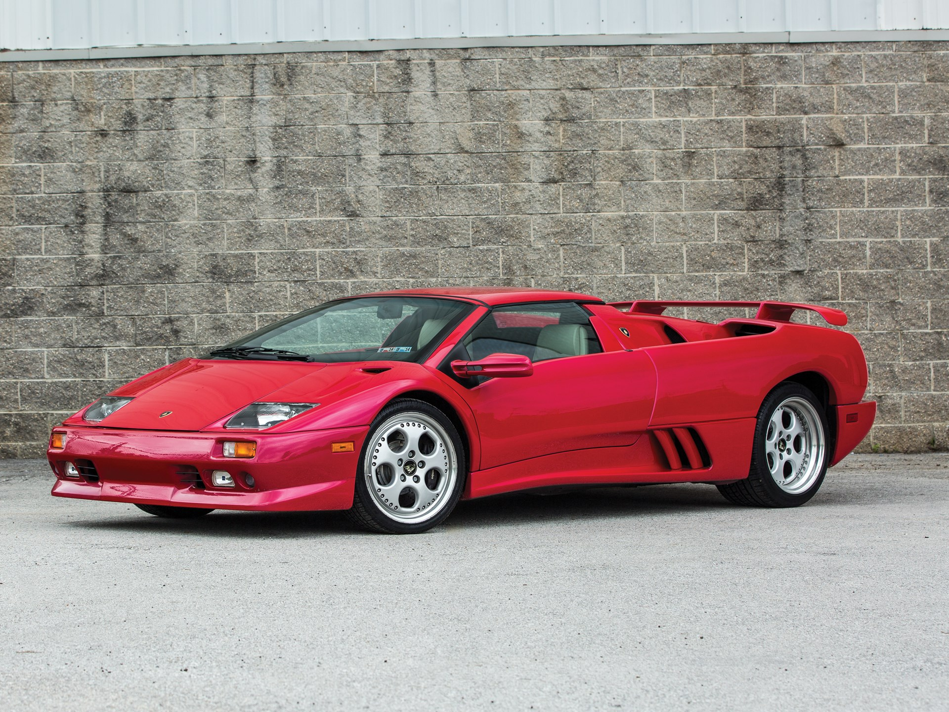 1999 lamborghini diablo vt roadster for sale