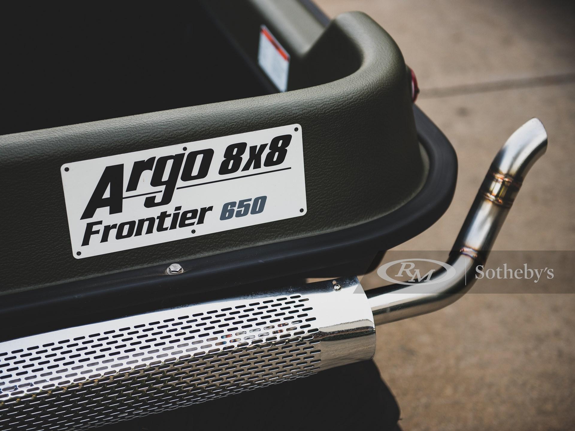 2014 Argo Frontier 650 8×8  -