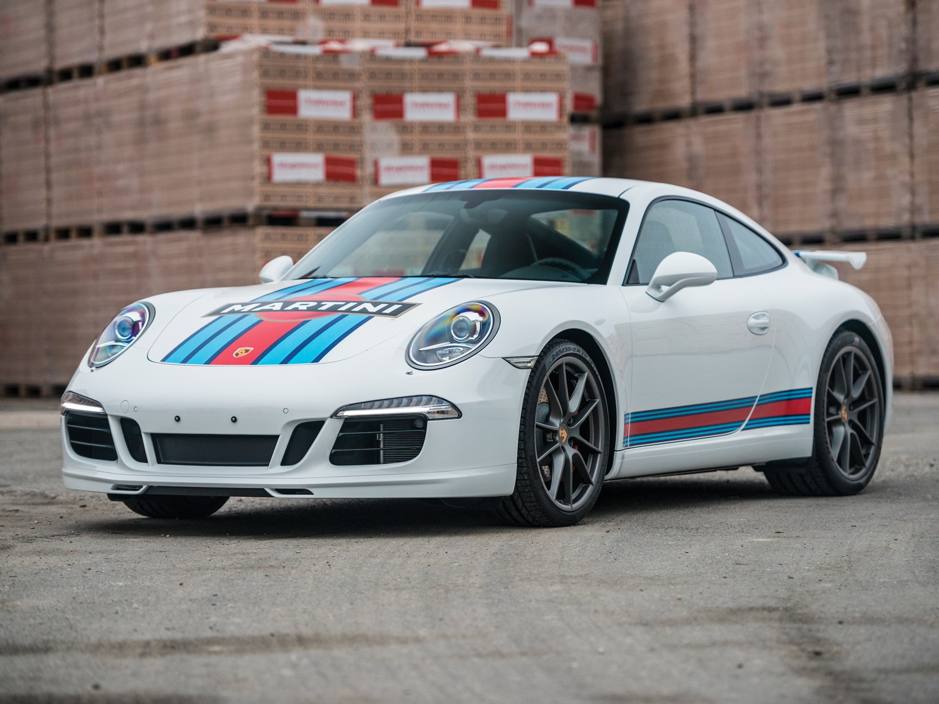 rm sotheby 39 s 2014 porsche 911 carrera s martini racing edition paris 2017. Black Bedroom Furniture Sets. Home Design Ideas