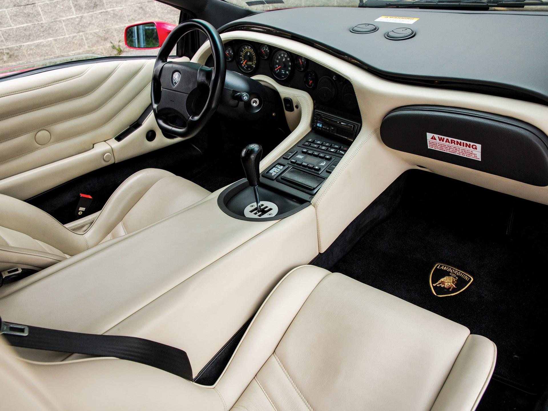 Rm Sotheby S 1999 Lamborghini Diablo Vt Roadster Monterey 2016