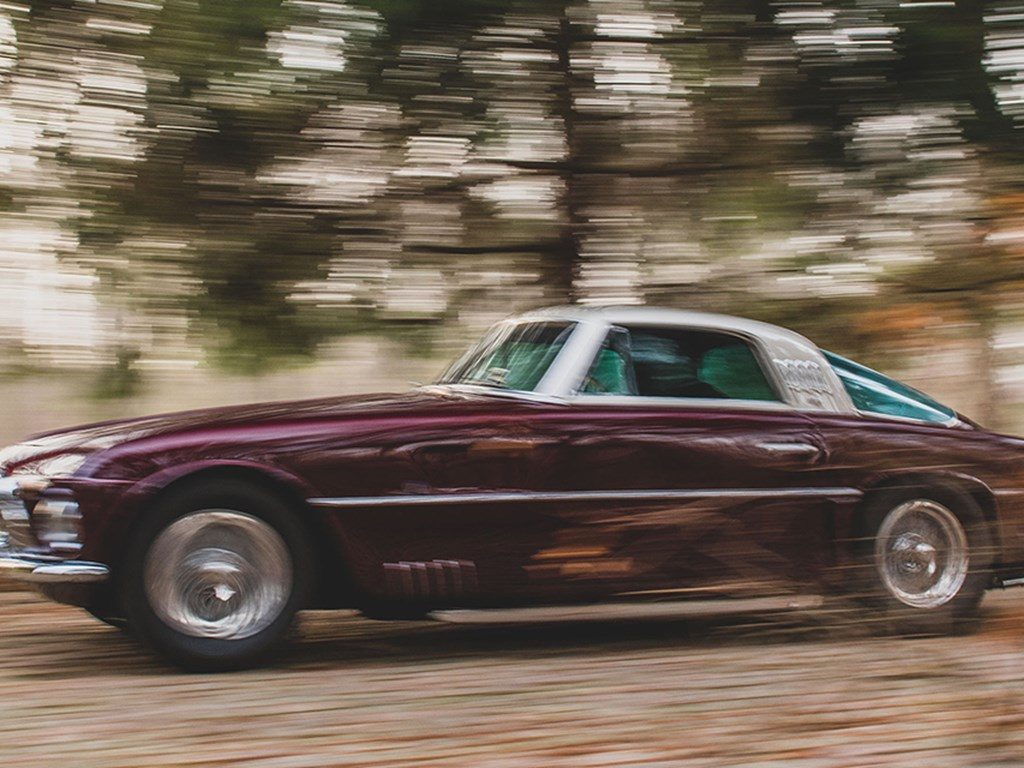 1954 Ferrari 375 America Coupe by Vignale offered at RM Sothebys Arizona Live Auction