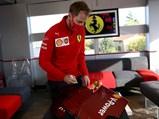 Ferrari SF1000 Signed Rear Wing Endplate, 2020 - $GP DELL'EMILIA ROMAGNA F1/2020 © FOTO COLOMBO IMAGES credit: @Scuderia Ferrari Press Office