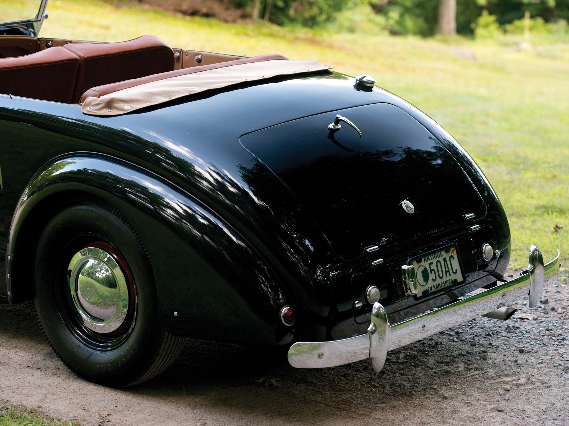 1950 AC 2-Litre Sports Tourer by Buckland