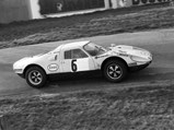 1964 Porsche 904 GTS  - $904-061 at the start of the 1972 Albi National.
