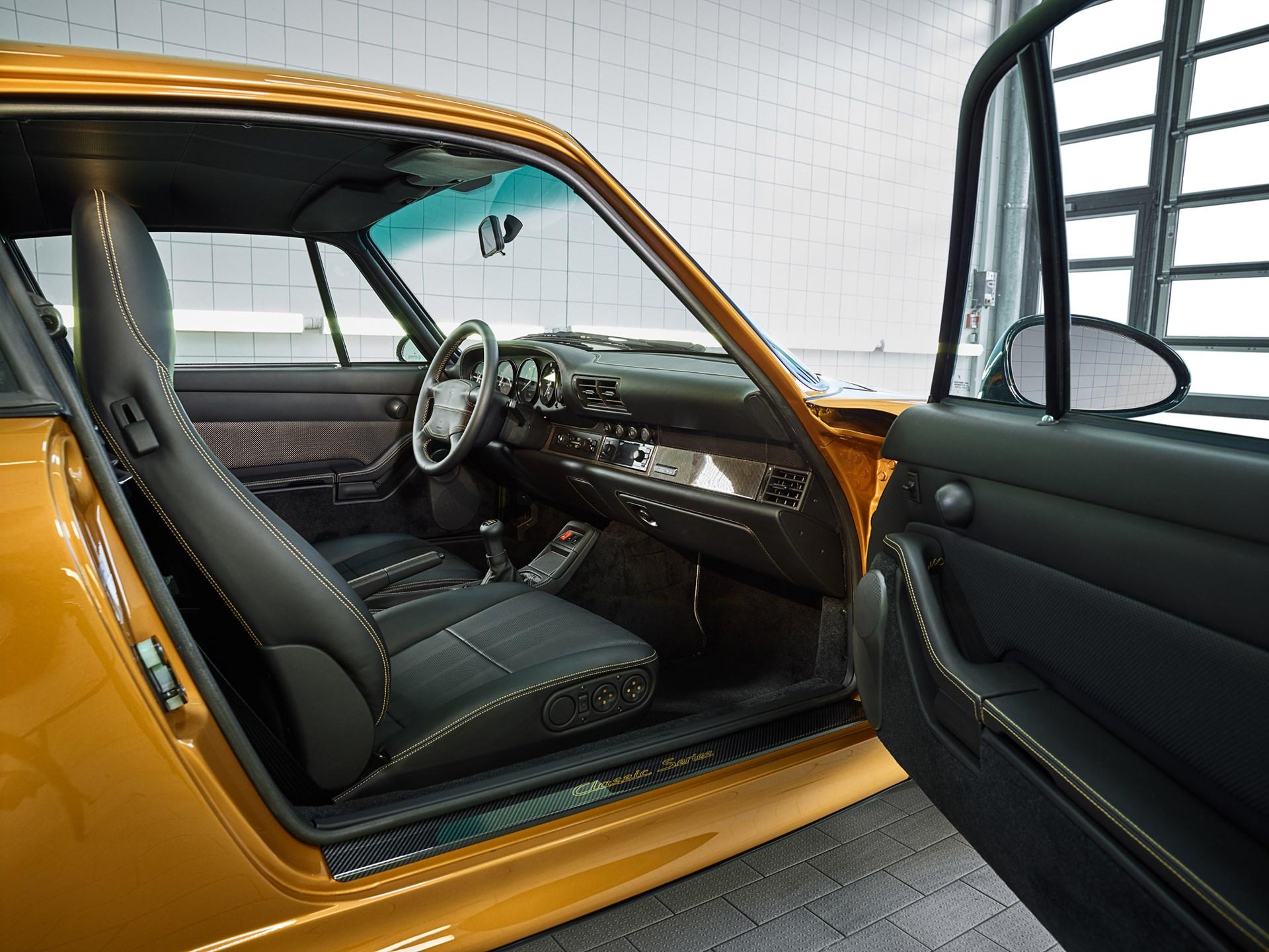 "2018 Porsche 911 Turbo Classic Series ""Project Gold"""