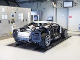 2018 Bugatti Chiron  - $Chassis 069 during production at Bugatti's facilities in Molsheim, France.