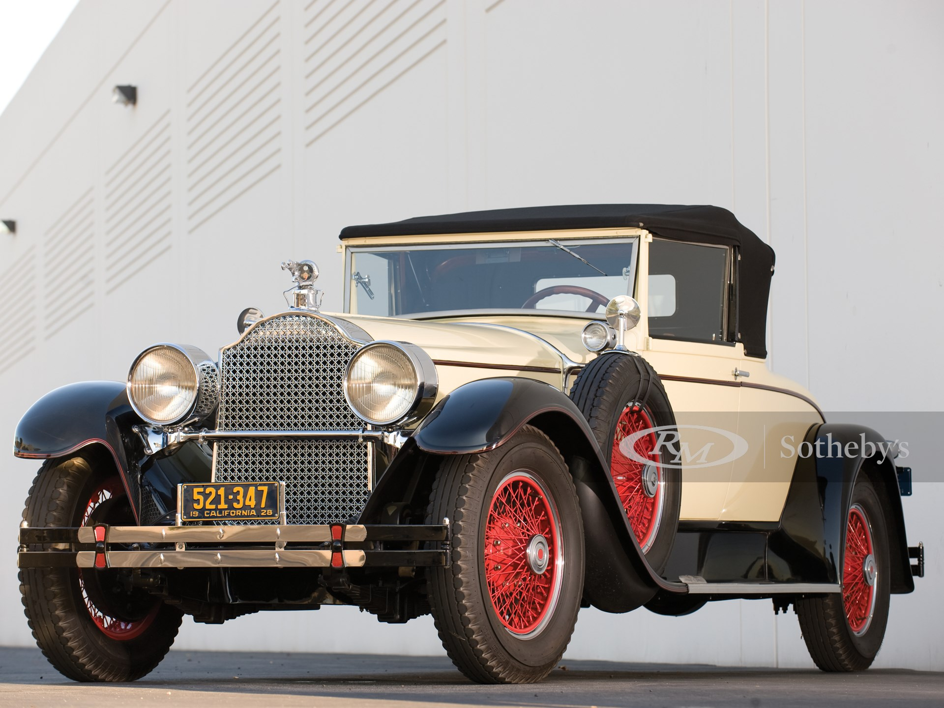 1928 Packard Custom Eight Dietrich Convertible Coupe  -