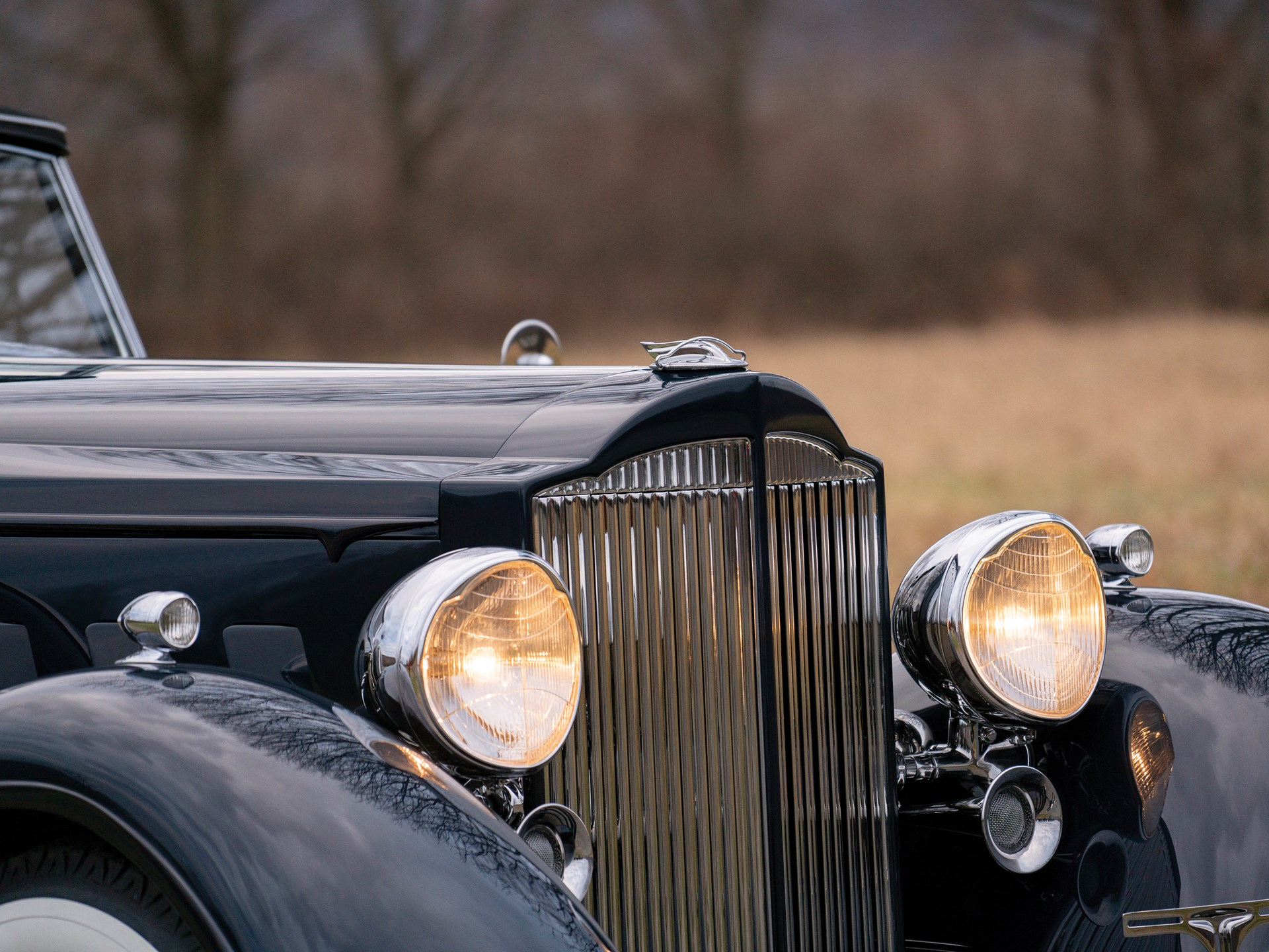 1934 Packard Twelve Individual Custom Convertible Sedan by Dietrich