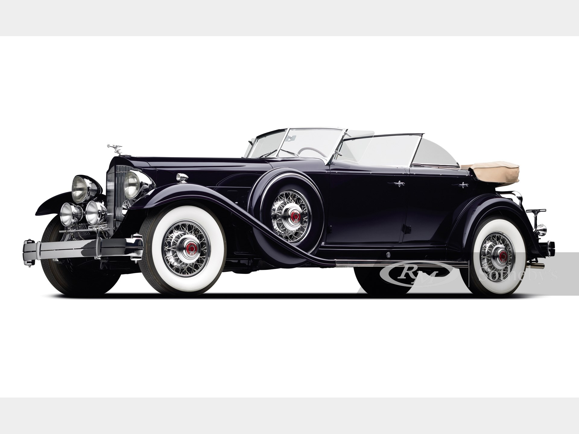 1932 Packard Twin Six Sport Phaeton