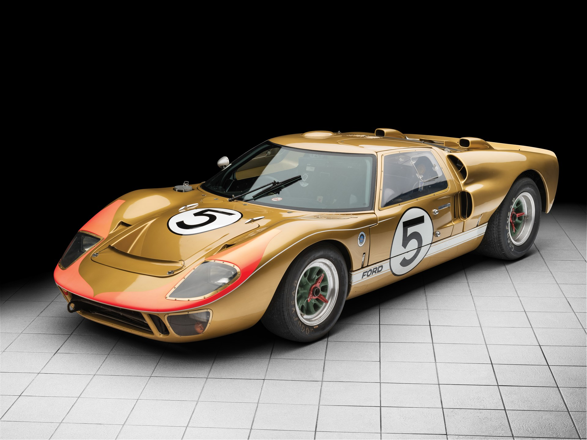 Rm Sotheby S 1966 Ford Gt40 Mk Ii Monterey 2018