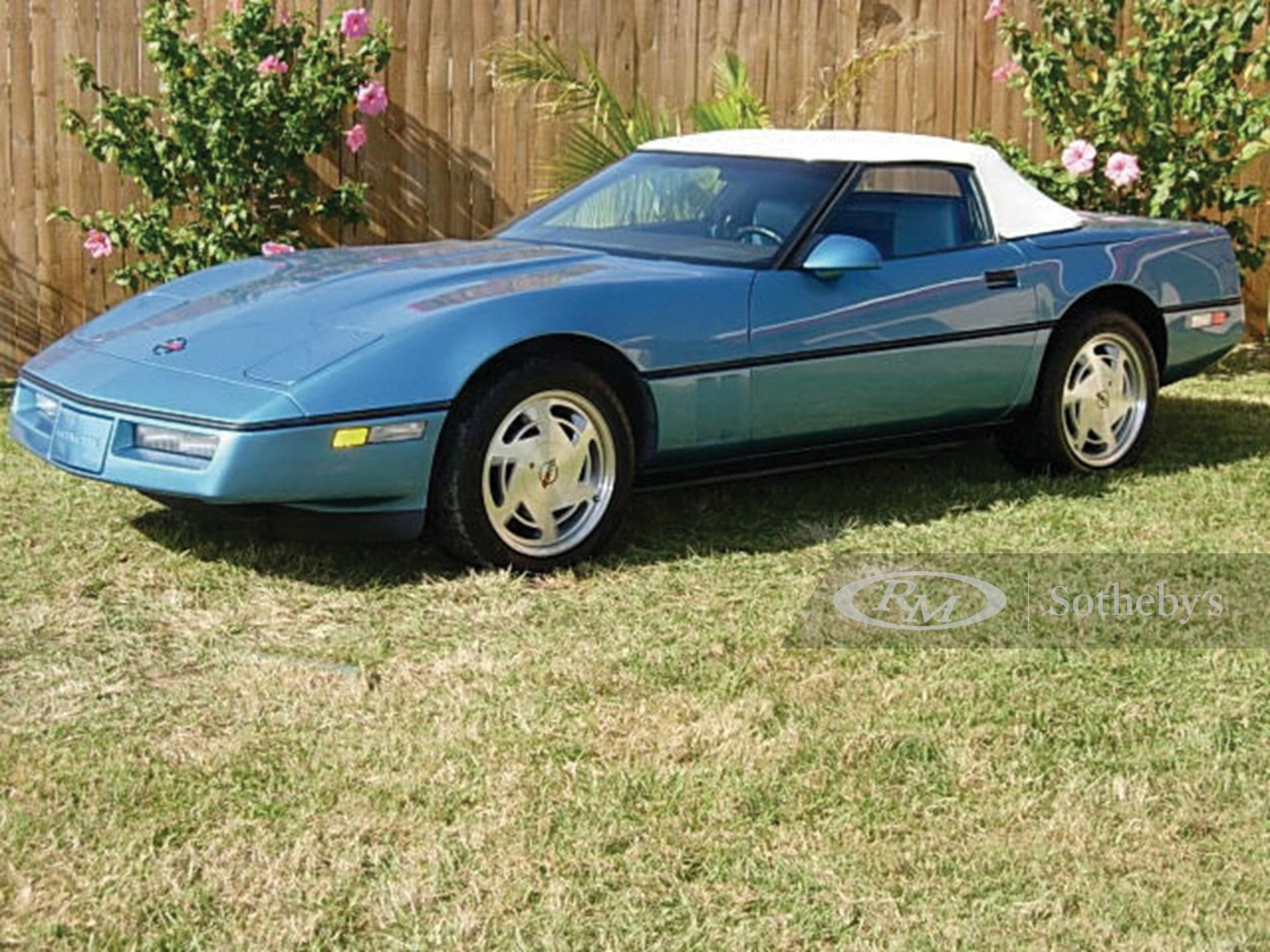 1988 Chevrolet Corvette Convertible  -