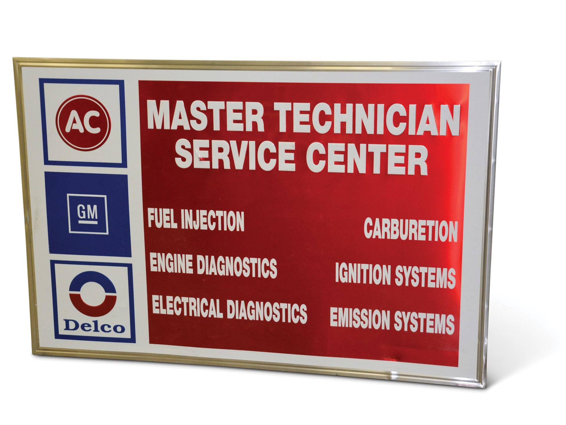 RM Sotheby's - GM AC Delco Master Technician Service Center