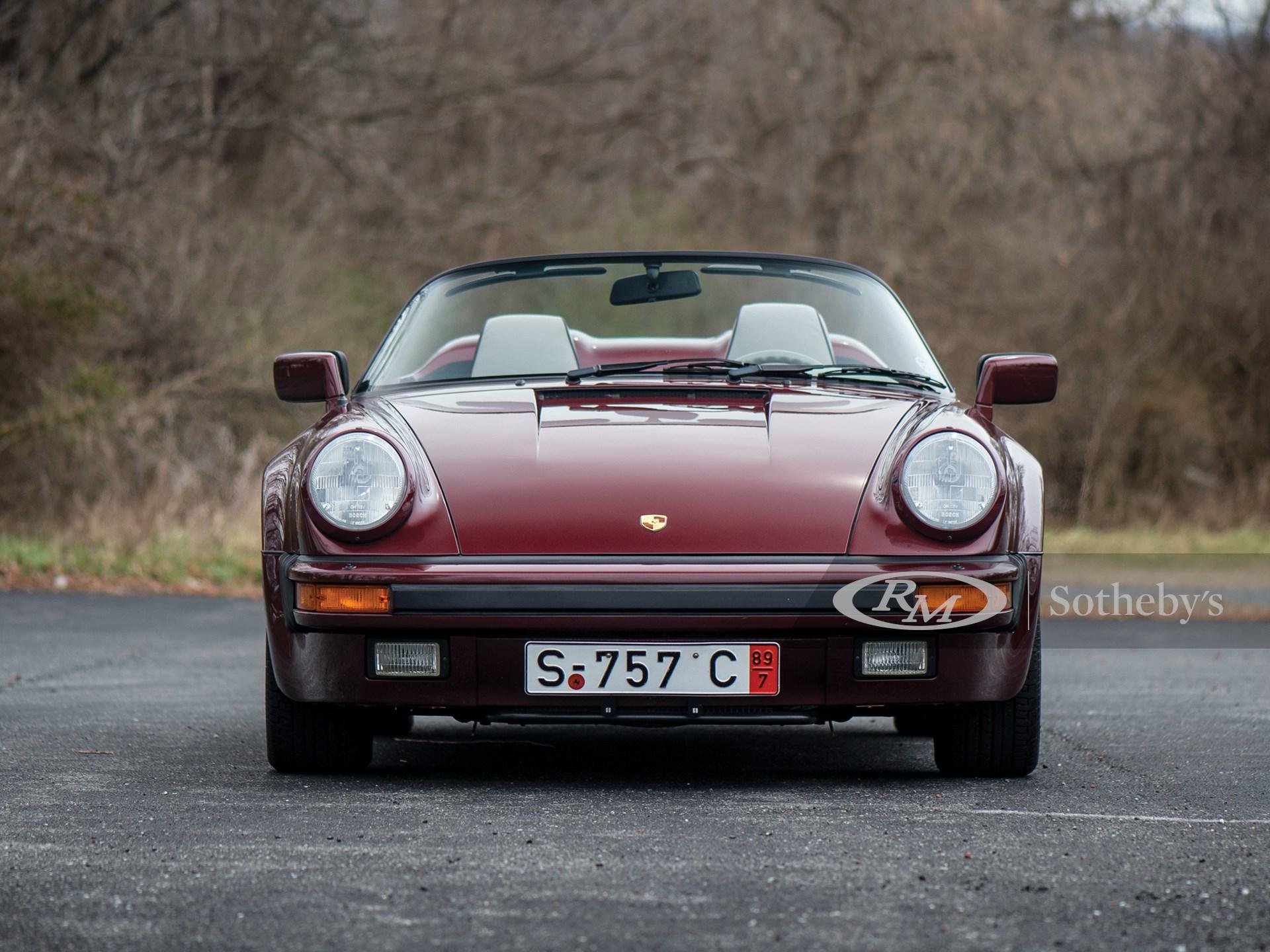 1989 Porsche 911 Speedster  -