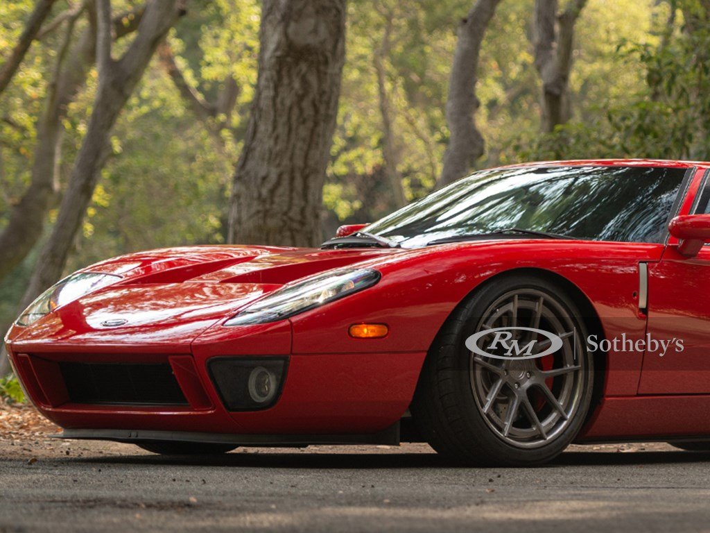 2005 Ford GT Offered at RM Sothebys Monterey Live Auction 2021
