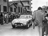 1956 Ferrari 250 GT Berlinetta Competizione 'Tour de France' by Scaglietti - $Ottavio Randaccio at the starting line of the Pontedecimo-Giovi Hillclimb in 1957, where he finished 3rd in class.