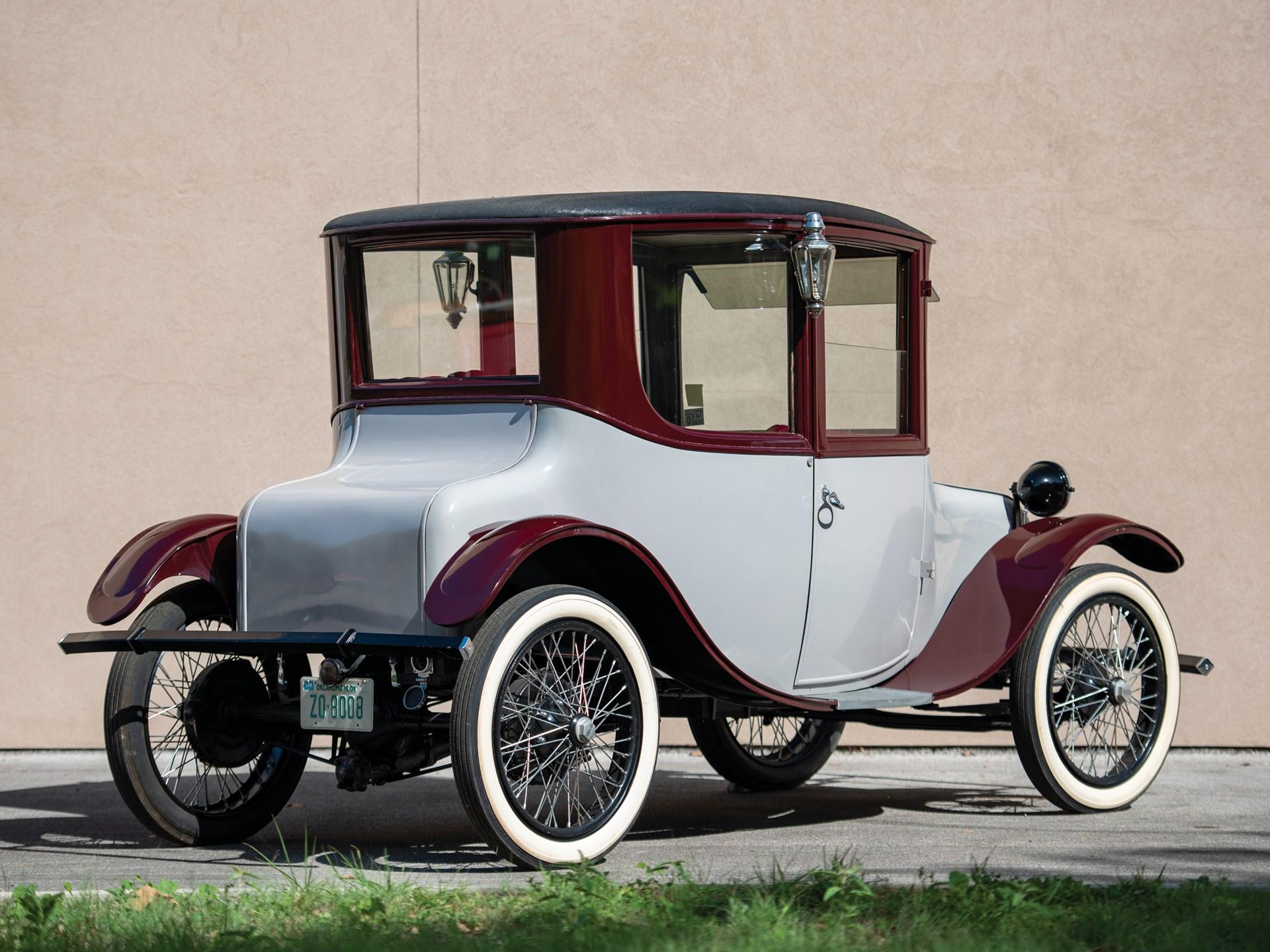 1917 Milburn Electric Model 27 Brougham