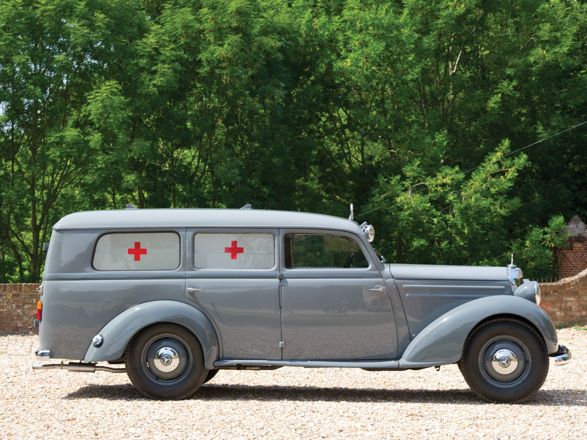 RM Sotheby's - 1954 Mercedes-Benz 170 S-V Ambulance | London