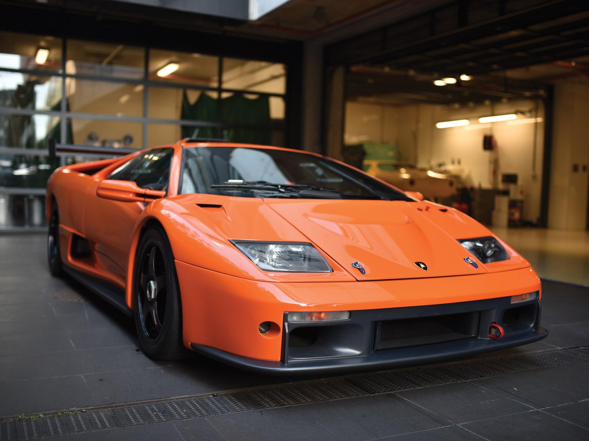 Rm Sotheby S 2000 Lamborghini Diablo Gtr Monterey 2017