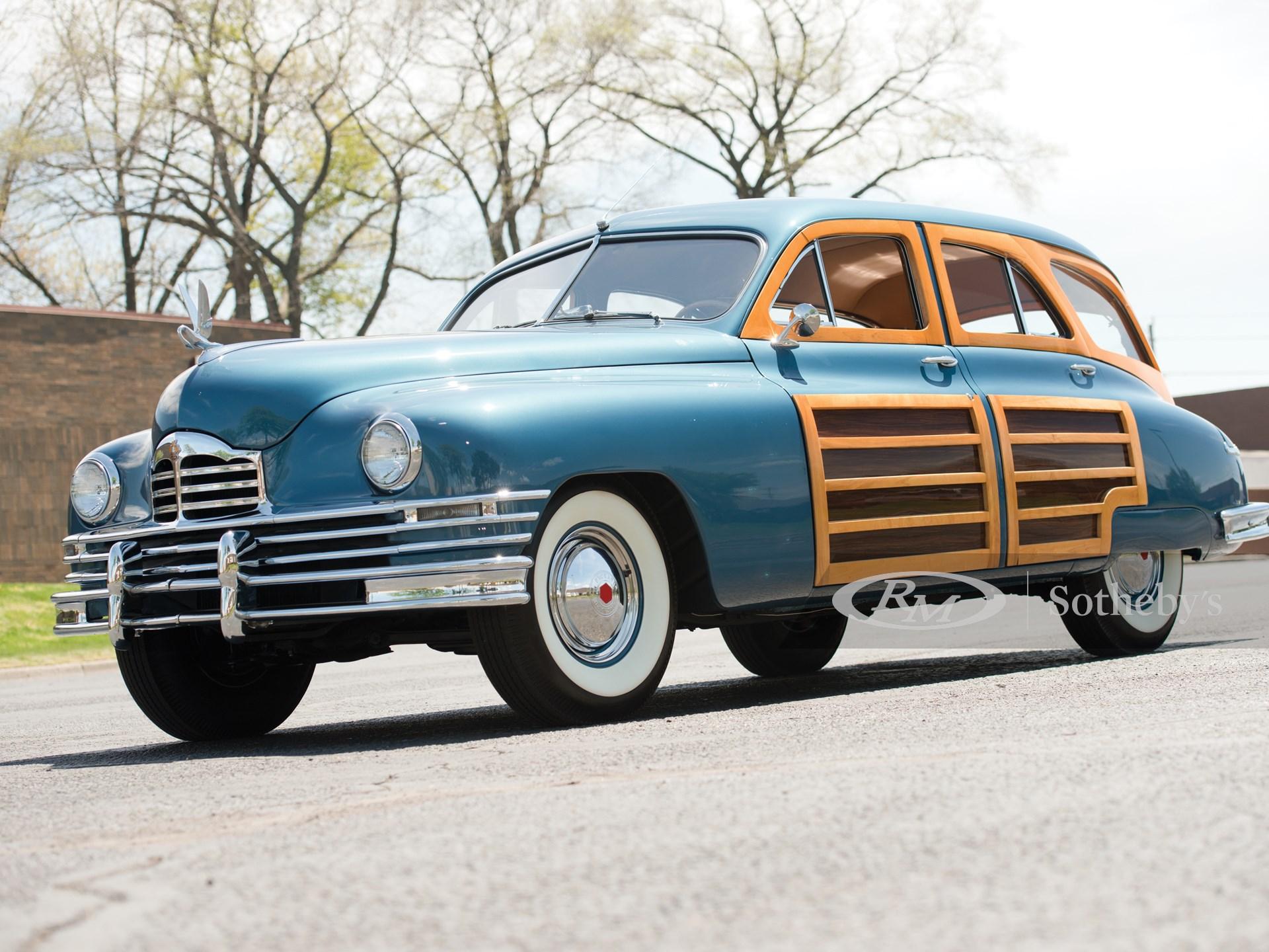 1950 Packard Eight Station Sedan