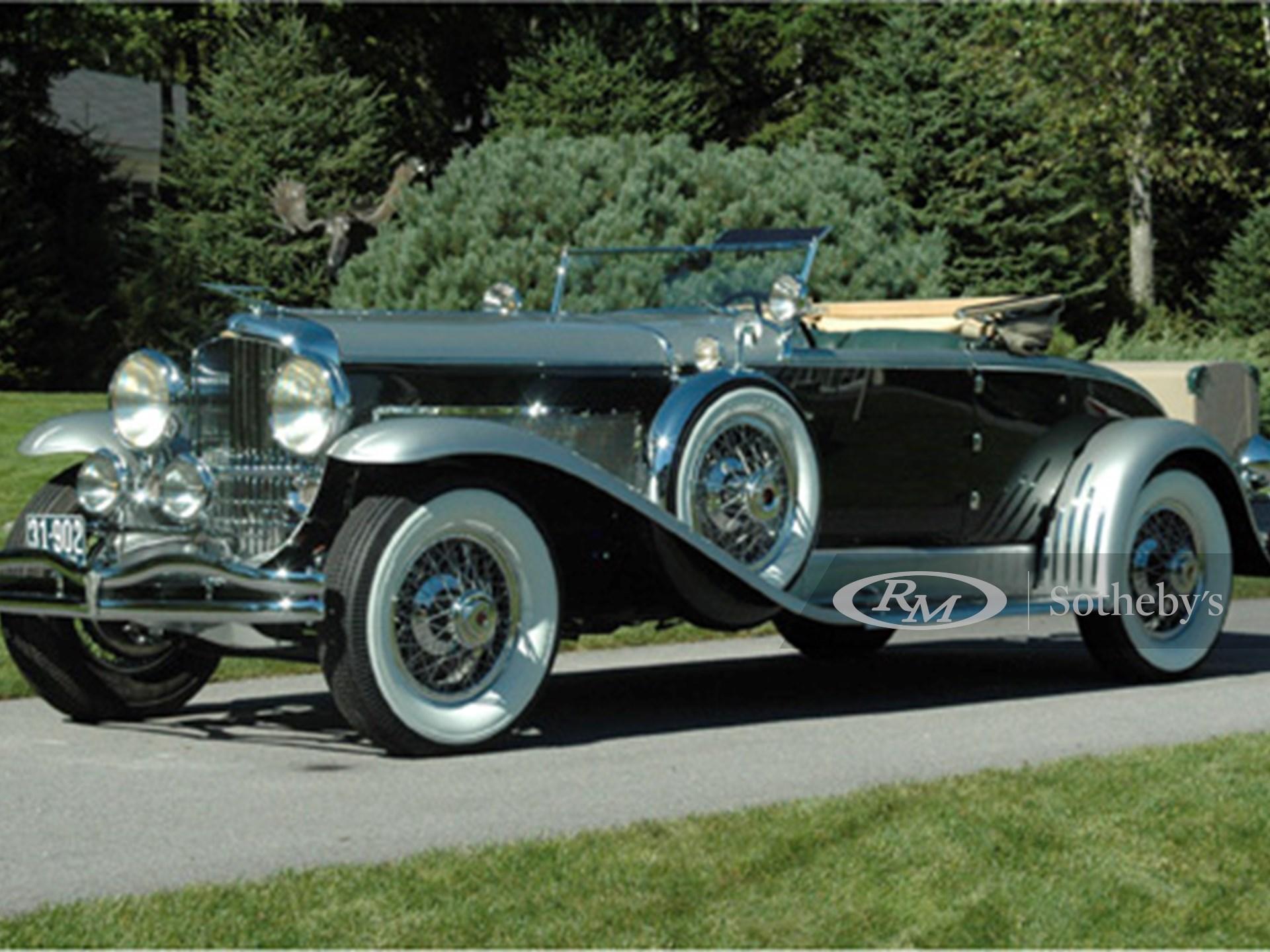 1929 Duesenberg J Murphy Convertible Coupe  -