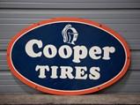 Cooper Tires Sign - $