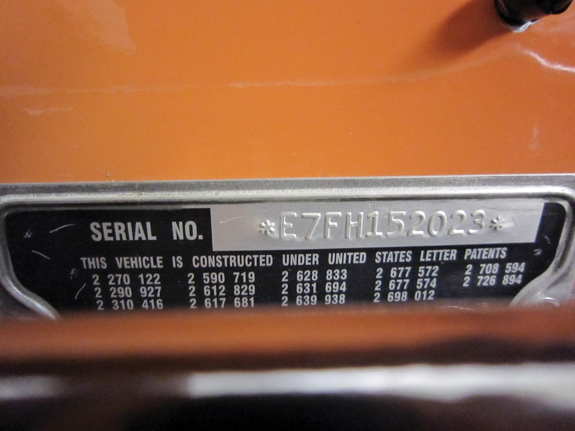1957 Ford Thunderbird 'E-Code'