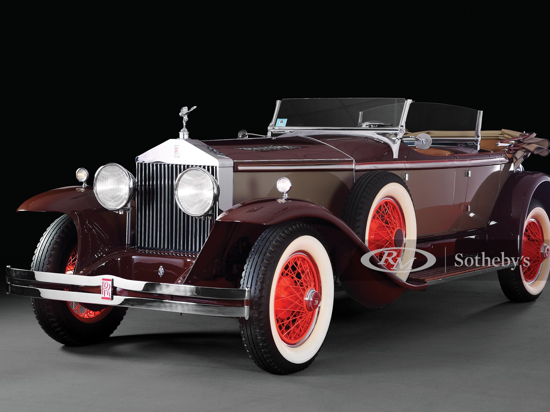 1929 Rolls-Royce Phantom I Ascot Tourer by Merrimac -