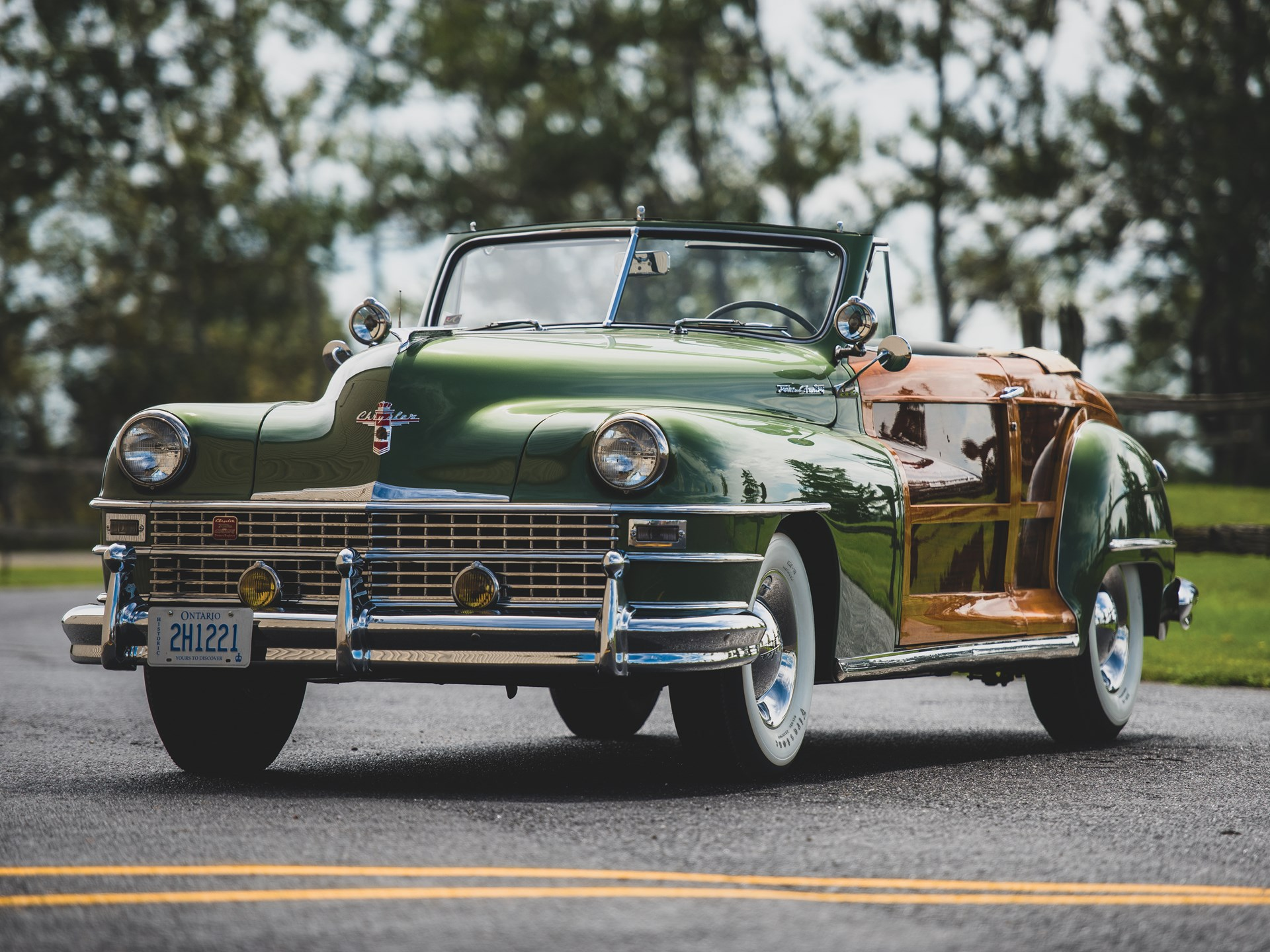 Image result for rm hershey 1949 Chrysler Town & Country Convertible