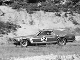 1969 Ford Mustang Boss 302 Trans Am  - $Chassis no 628 as seen in 1969 at Bridgehampton with Horst Kwech at the wheel.