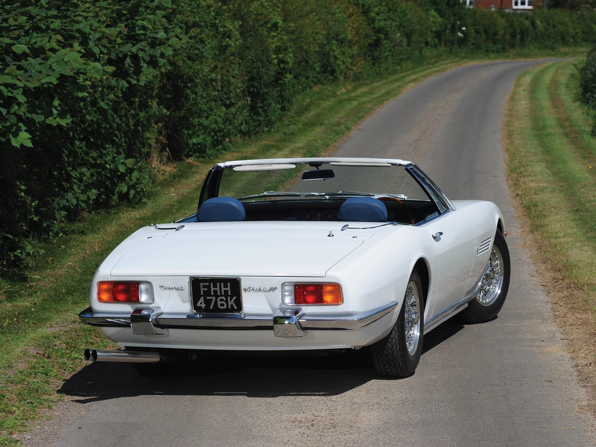 RM Sotheby's - 1972 Maserati Ghibli SS 4.9 Spyder by Ghia ...