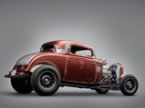 """1932 Ford """"Fender-Less"""" Three-Window Coupe  - $"""