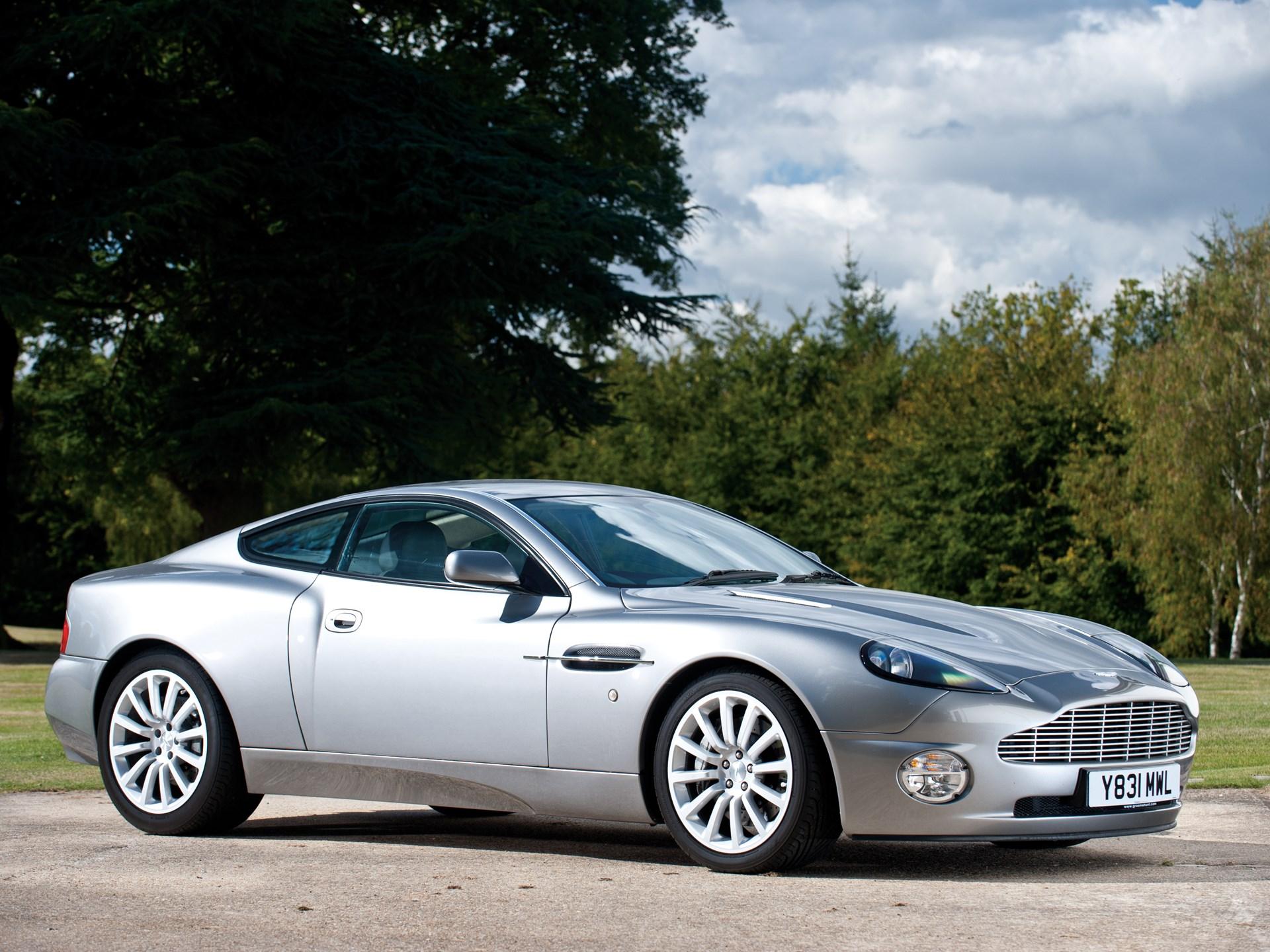 RM Sothebys Aston Martin Vanquish Prototype London - 2001 aston martin vanquish