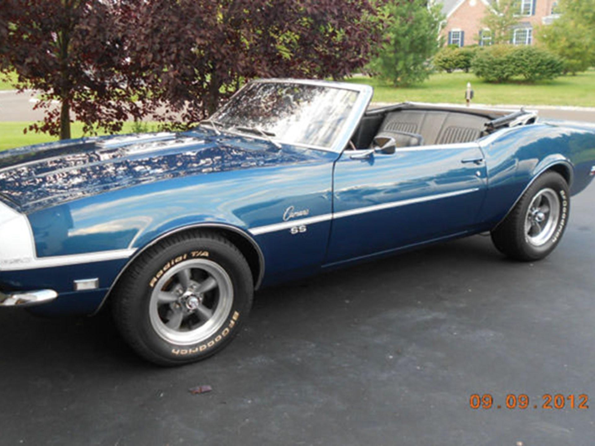 Rm Sothebys 1968 Chevrolet Camaro Rs Ss Fall Carlisle 2012 Chevy