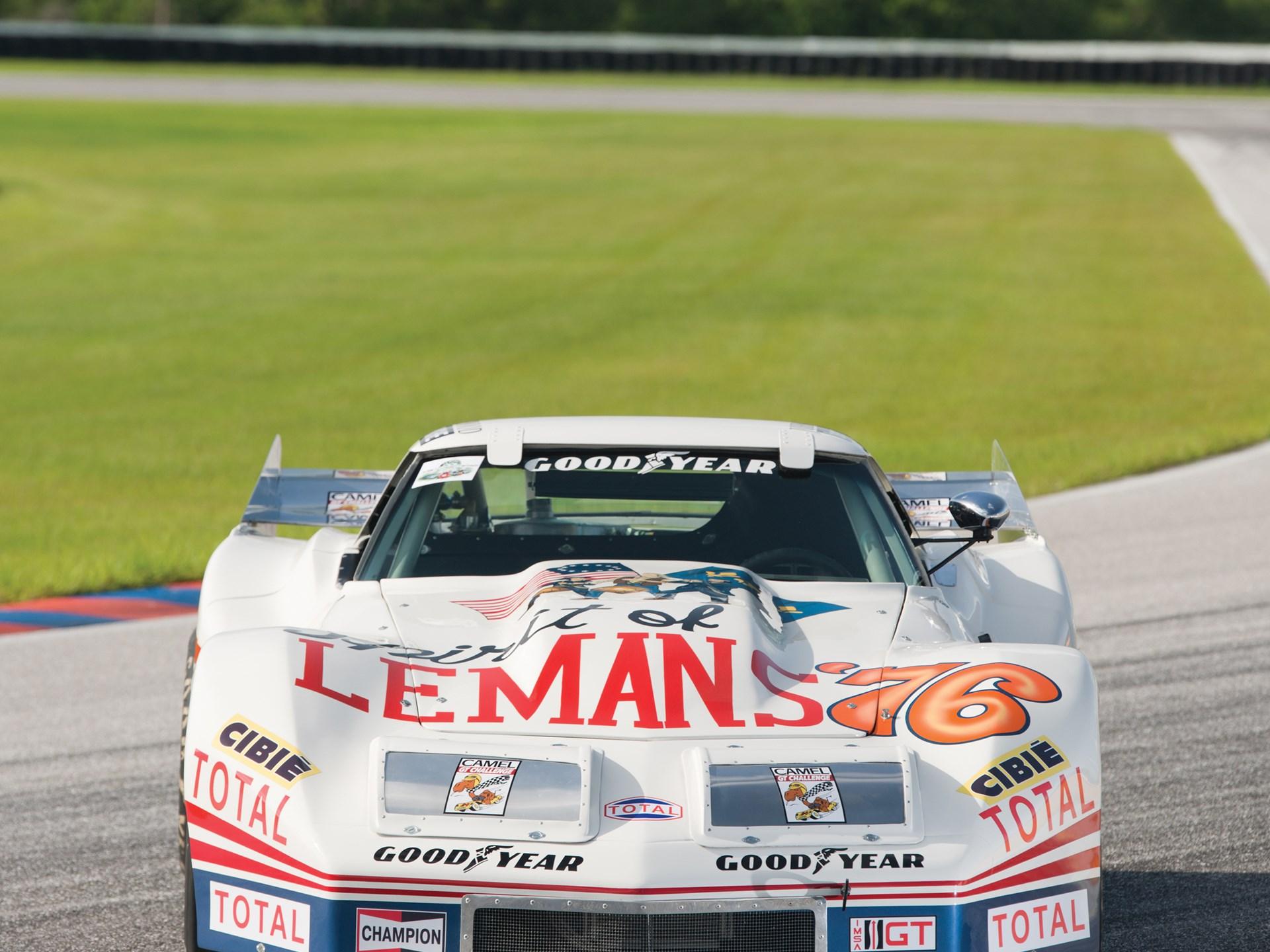 "RM Sotheby s 1976 Chevrolet Corvette Widebody IMSA ""Spirit of Le"
