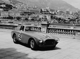 1952 Ferrari 225 S Berlinetta by Vignale - $Chassis no. 0164 ED as seen during the 1952 Monaco Grand Prix, where it placed fourth overall.