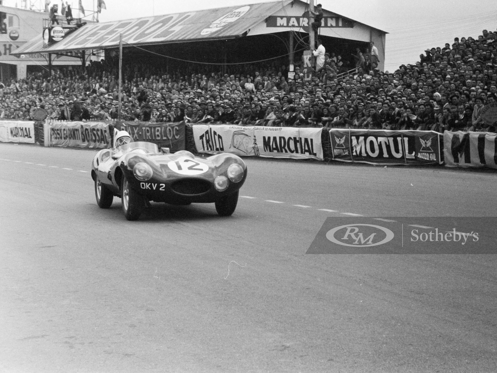 1954 Jaguar D-Type Works
