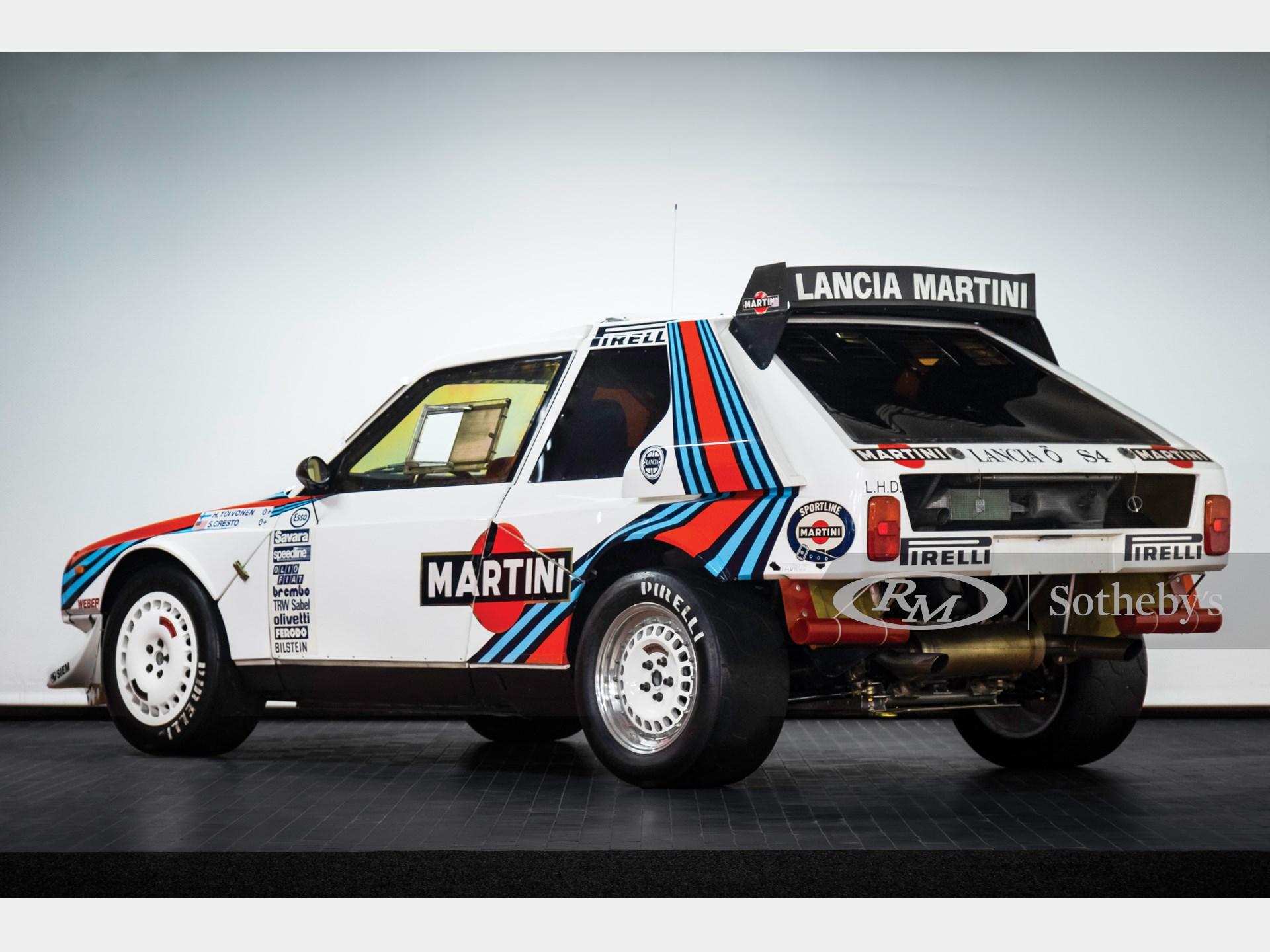 1985 Lancia Delta S4 Rally  -