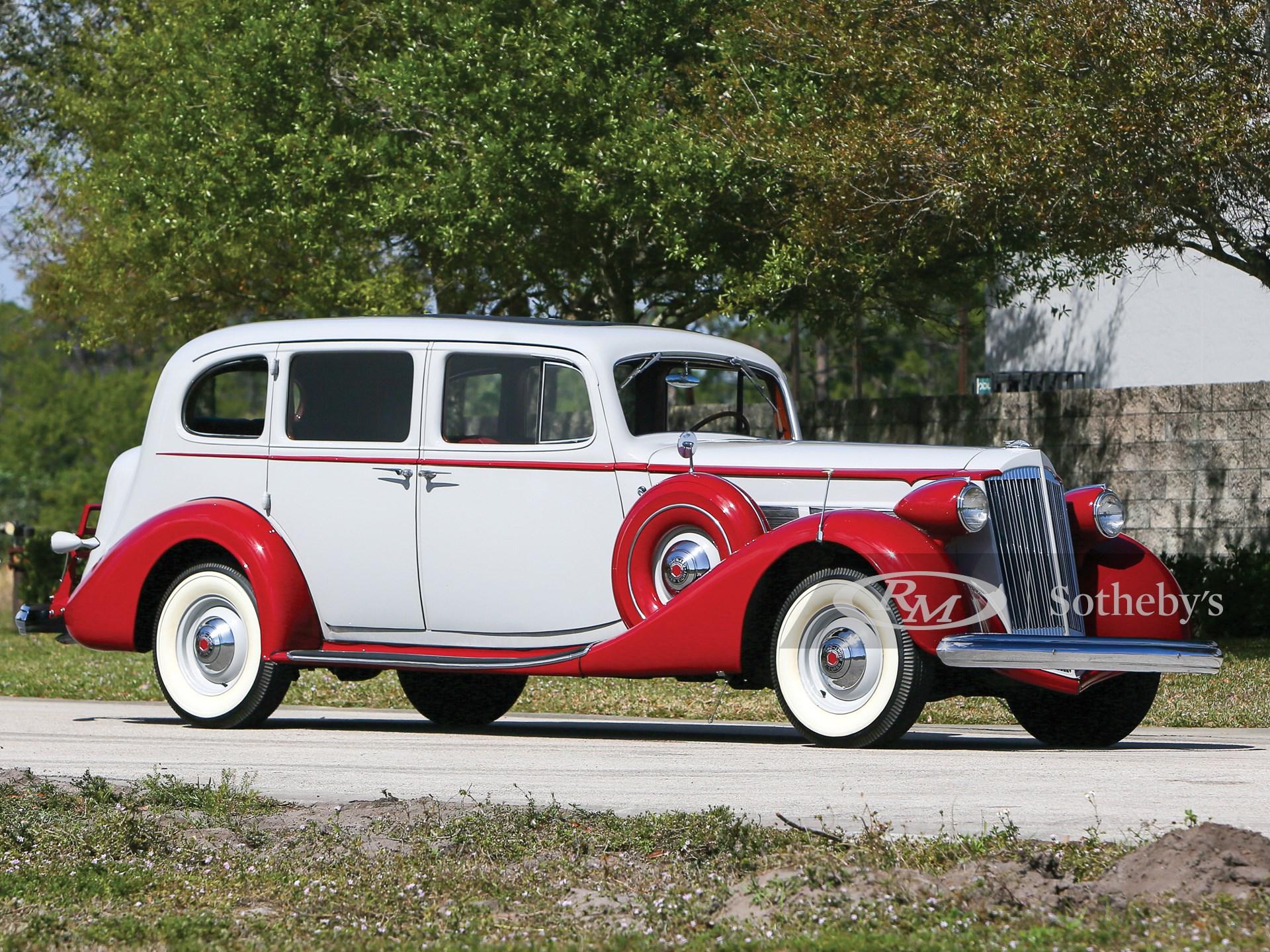 1937 Packard Super Eight Touring Sedan